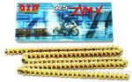 TIGER 1050 & SE: DID 530x114 ZVMX X-RING Gold Chain & Sprockets Kit: Premium Strength! +FREE Chain Tool!